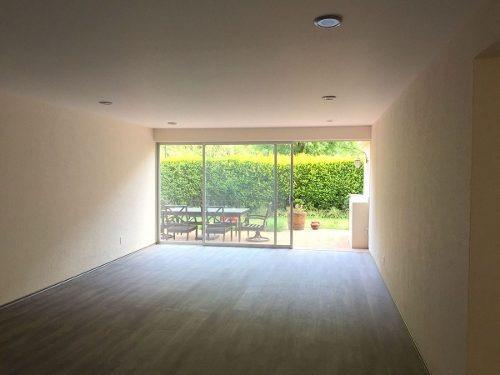 departamento garden en renta en residencial privilege, huixquilucan