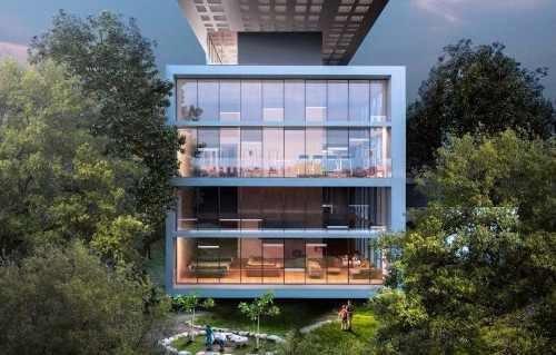 departamento garden house en pre venta en la herradura, huixquilucan