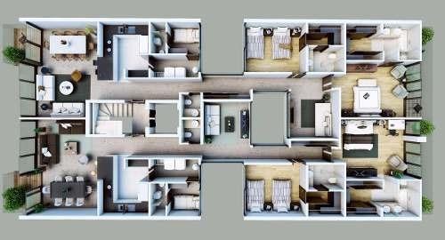 departamento garden house en venta en polanco, d.f.