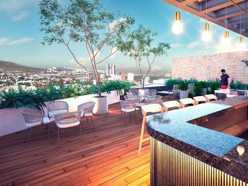 departamento gardenhouse  de 257 m² en preventa, león,gto