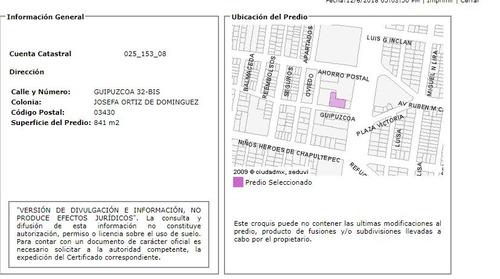 departamento guipozcoa 32, colonia josefa ortiz de dominguez