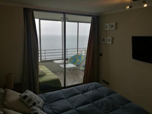 departamento hermosa vista al mar, costa de montemar, concón