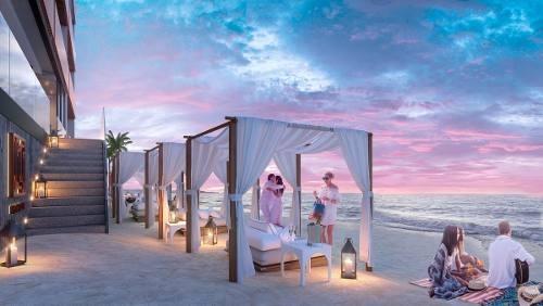 departamento ¨it beach¨ sobre playa en playa del carmen lujo