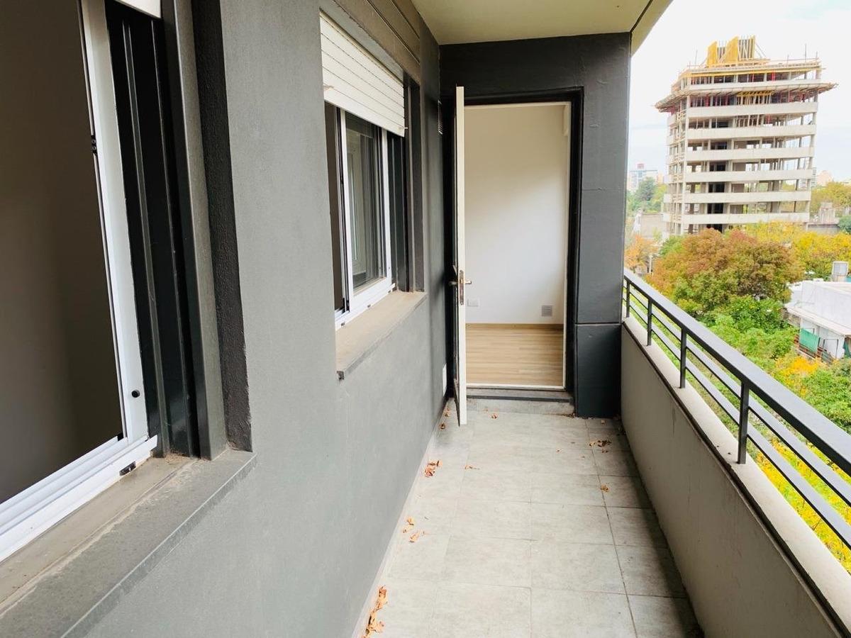 departamento linda distribucion  a estrenar 62 m2 . 2 dormitorios zona abasto impecable-posibilidad cochera