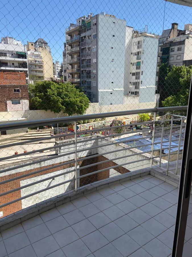 departamento  monoambiente en almagro en edificio con amenities