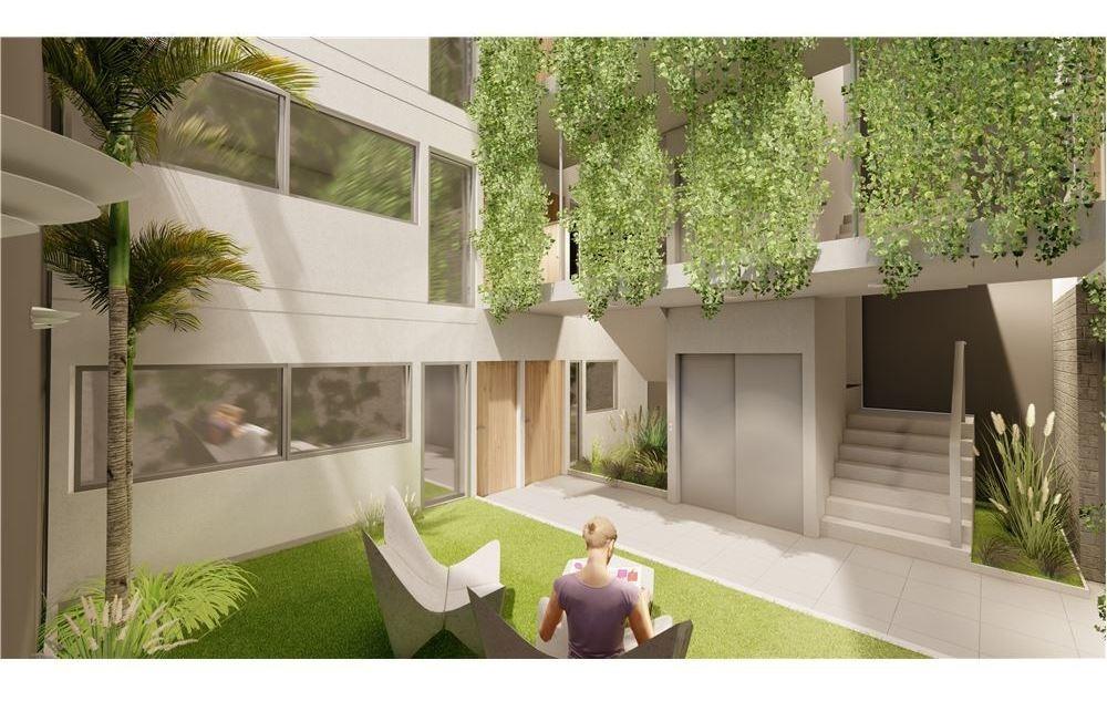 departamento monoambiente + exclusiva terraza