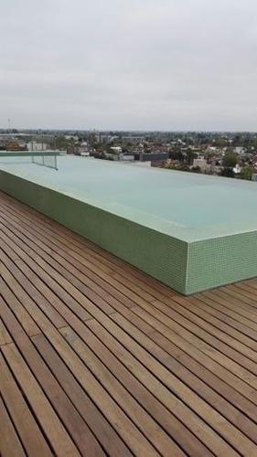 departamento monoambiente frente, balcon excelente castelar