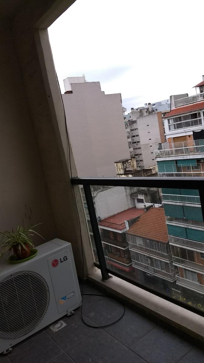departamento monombiente con balcon (villa urquiza)