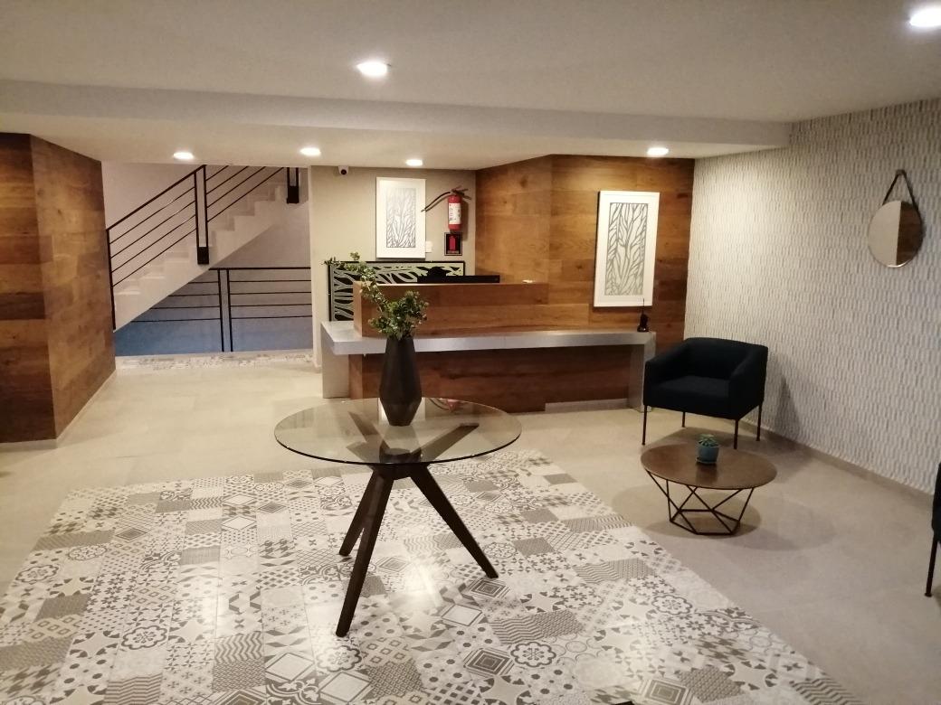 departamento nuevo! colonia san rafael renta $22,000 pesos