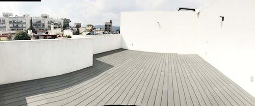 departamento nuevo en cuajimalpa con roof garden