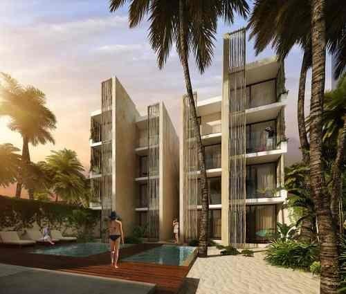 departamento nuevo en la playa con amenidades, olá, telchac, yucatán