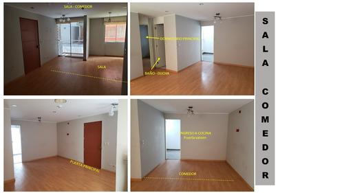 departamento ocasion 87 m2 , gas natural.venta directa.
