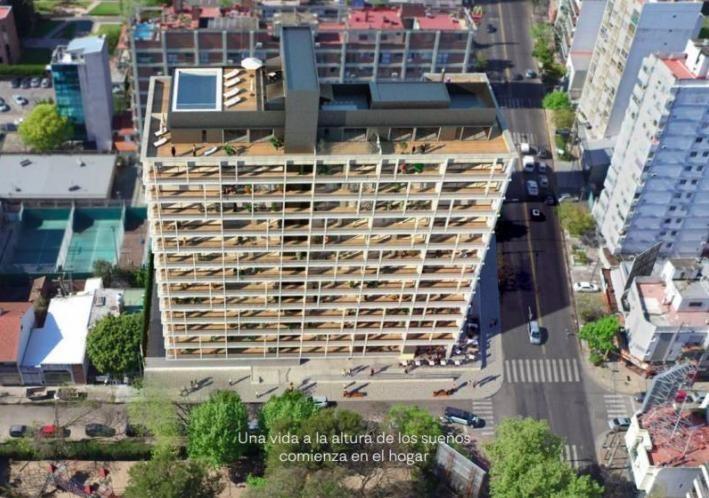 departamento / oficina con balcón y vista al río - financiación pesos - olivos