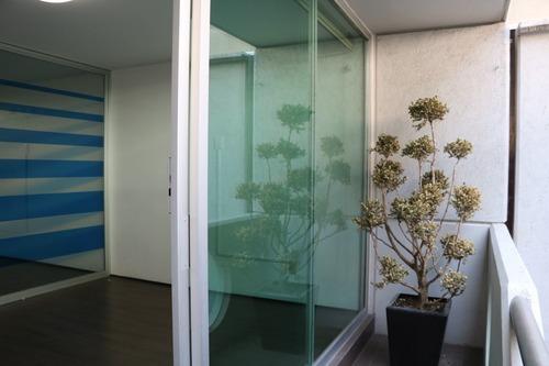 departamento / oficina en renta 89m2 en la nápoles, con balcón