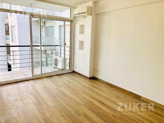 departamento - palermo- 2 ambientes super luminoso - apto profesional - impecable