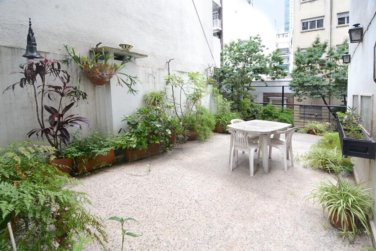 departamento - palermo - 4 ambientes - patio