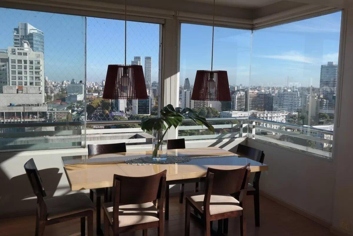 departamento - palermo - imponente 2 ambientes de maxima categoria - vista imponente!