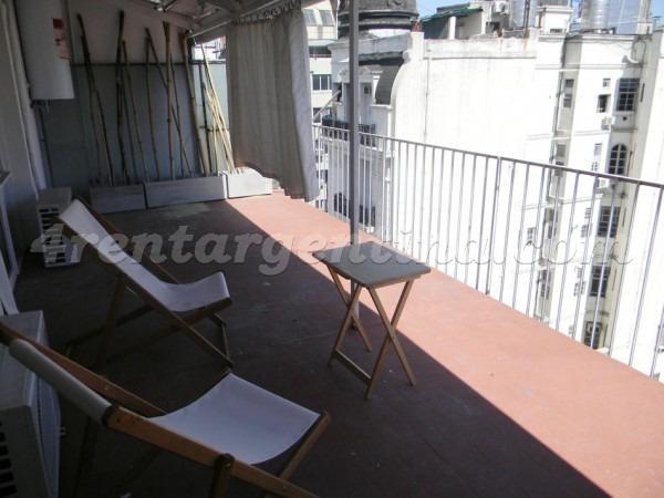 departamento para 4 personas con balcón terraza