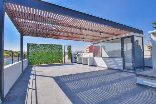 departamento para estrenar en planta baja, 3 recámaras, con terraza