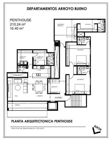 departamento penthouse en venta en lomas del tec