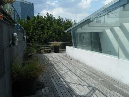 departamento ph    2 niveles con roof garden privado.