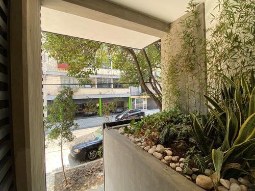 departamento ph-402 en preventa, 166m2, narvarte pte. con roof garden