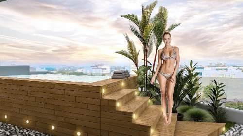 departamento playa del carmen dk05 de lujo ubicado nuevo