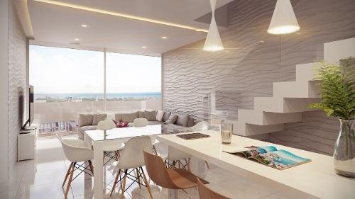 departamento playa del carmen dk52 inversión segura lujoso