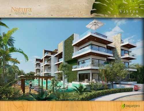departamento playa del carmen natura selvamar plusvalía