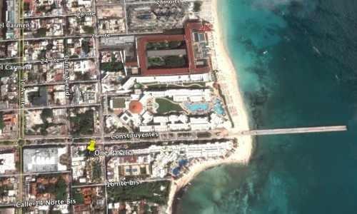 departamento playa del carmen one paralia cerca del mar lujo