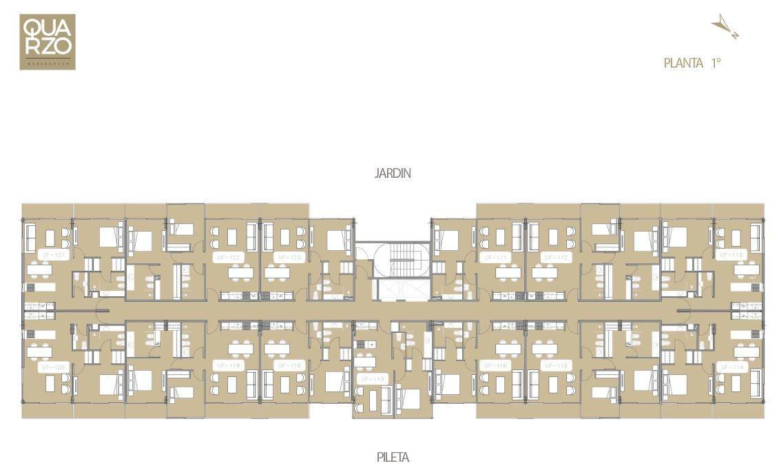departamento - quarzo residences - nordelta