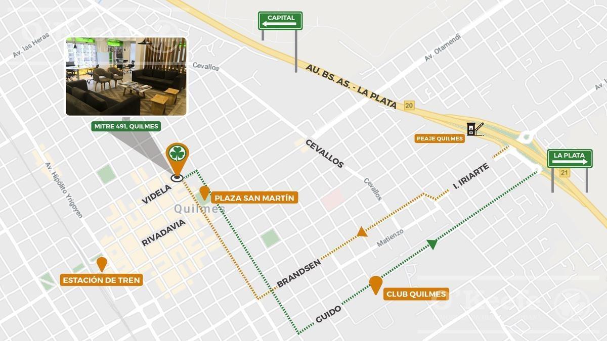 departamento - quilmes - brandsen 219 posesion inmediata - financiación