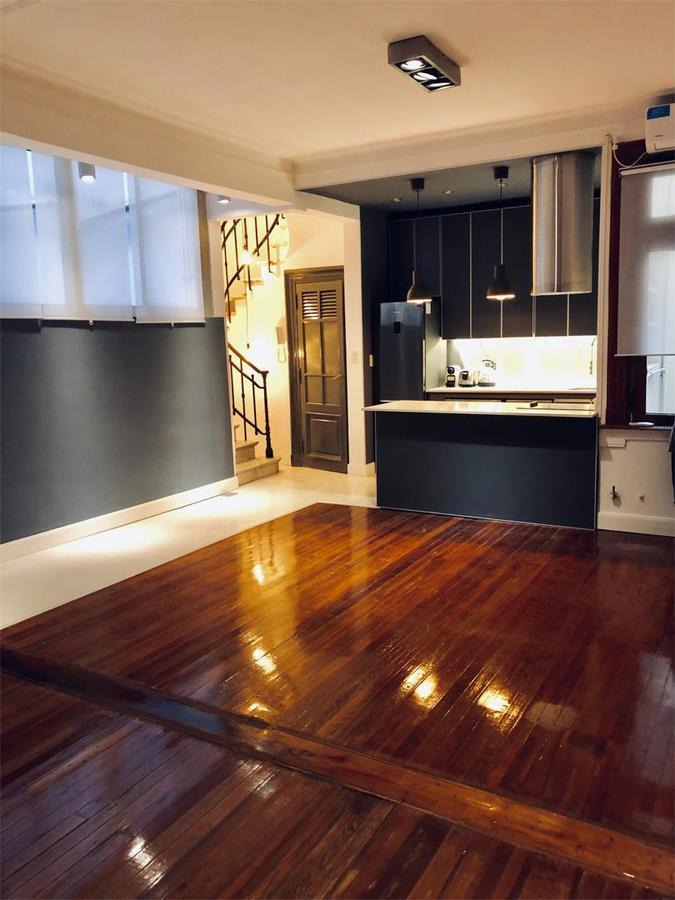 departamento - recoleta - duplex de 3 dormitorios magnifico!