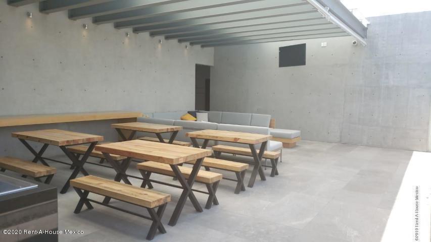 departamento renta en anahuac  calle lago alberto 20-1115 al