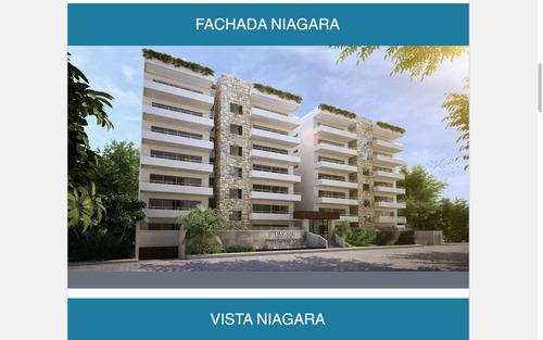 departamento residencial  aqua cancun - cascades