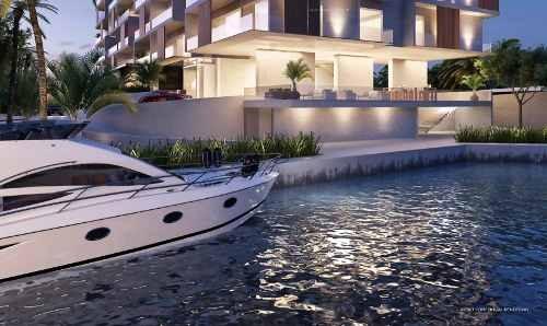 departamento riva puerto cancún venta