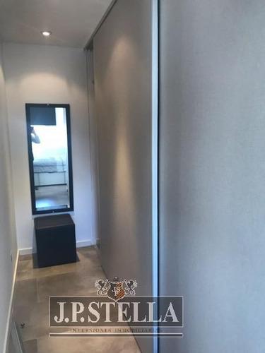 departamento semi piso 2 amb contrafrente - s.justo (ctro)
