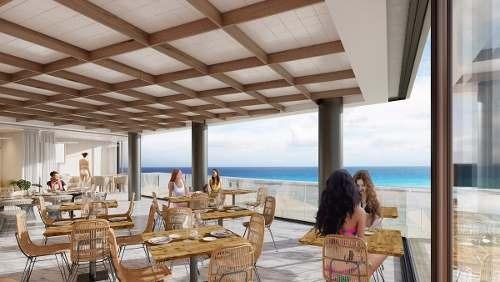 departamento sobre playa en playa del carmen ¨it beach¨ lujo