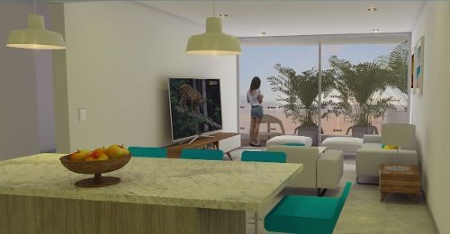 departamento solea playa del carmen inmejorable desarrollo