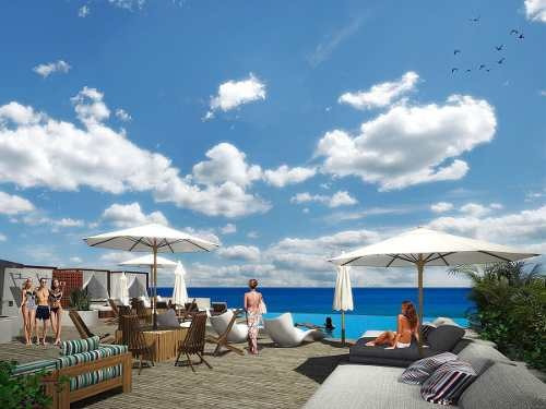 departamento solea playa del carmen inversión oportunidad
