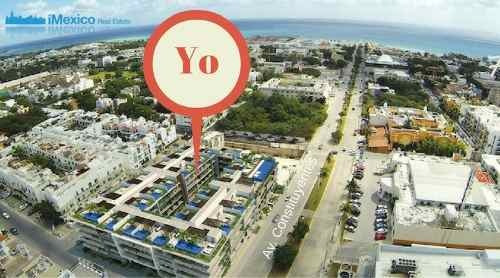 departamento the city en playa del carmen amueblado lujo