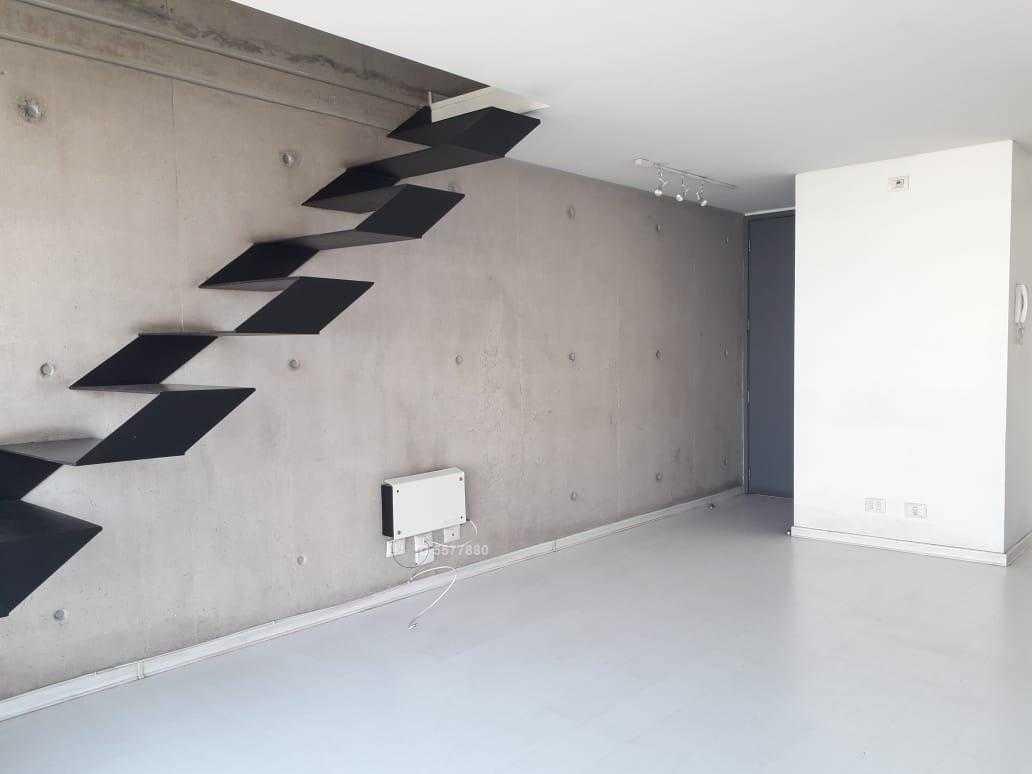 departamento tipo loft en antonio bellet, en edificio moderno cerca de metro pedro de valdivia