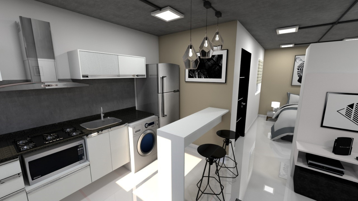 departamento tipo loft - excelente oportunidad de inversion