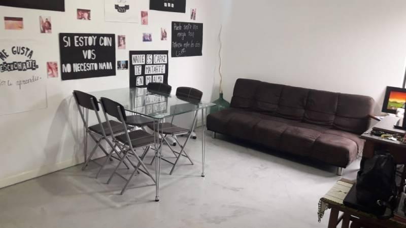 departamento tres ambientes con cochera