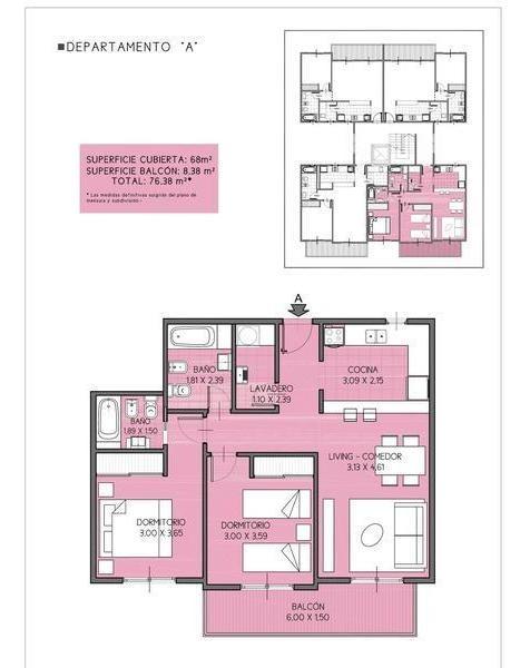 departamento tres ambientes en venta, caseros. excelente oportunidad.