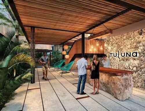 departamento tulum tuluna aldea zama increible inversión