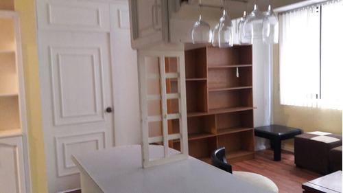 departamento un dormitorio en renta por la u catolica
