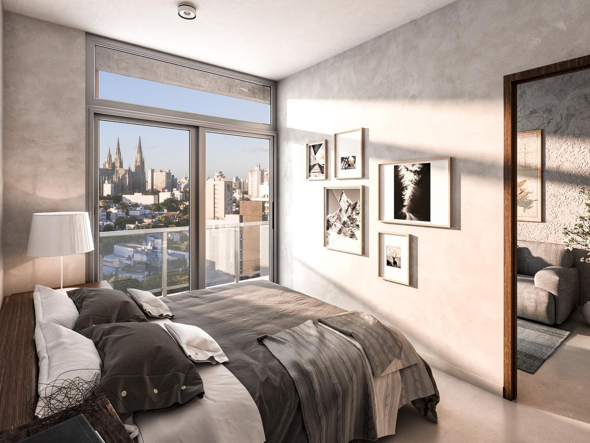 departamento venta 1 dormitorio / semipiso al frente