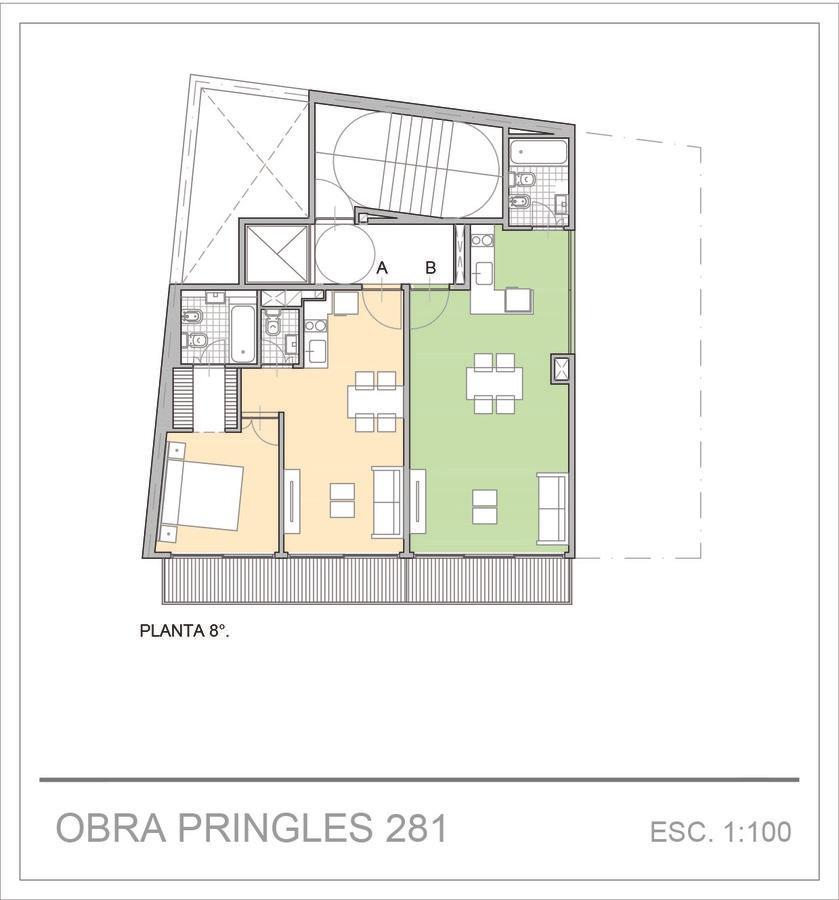 departamento- venta- 2 ambientes- almagro- emprendimiento