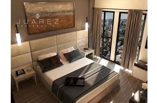 departamento venta 2 recamaras, en la nueva zona dorada tijuana con increíble vista a san diego